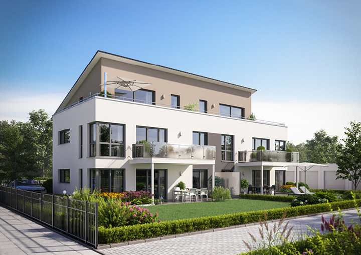 Moderne Mehrfamilienhäuser Bilder neuer wohnpark am gablonzer ring in kaufbeuren mehrfamilienhaus ecobau